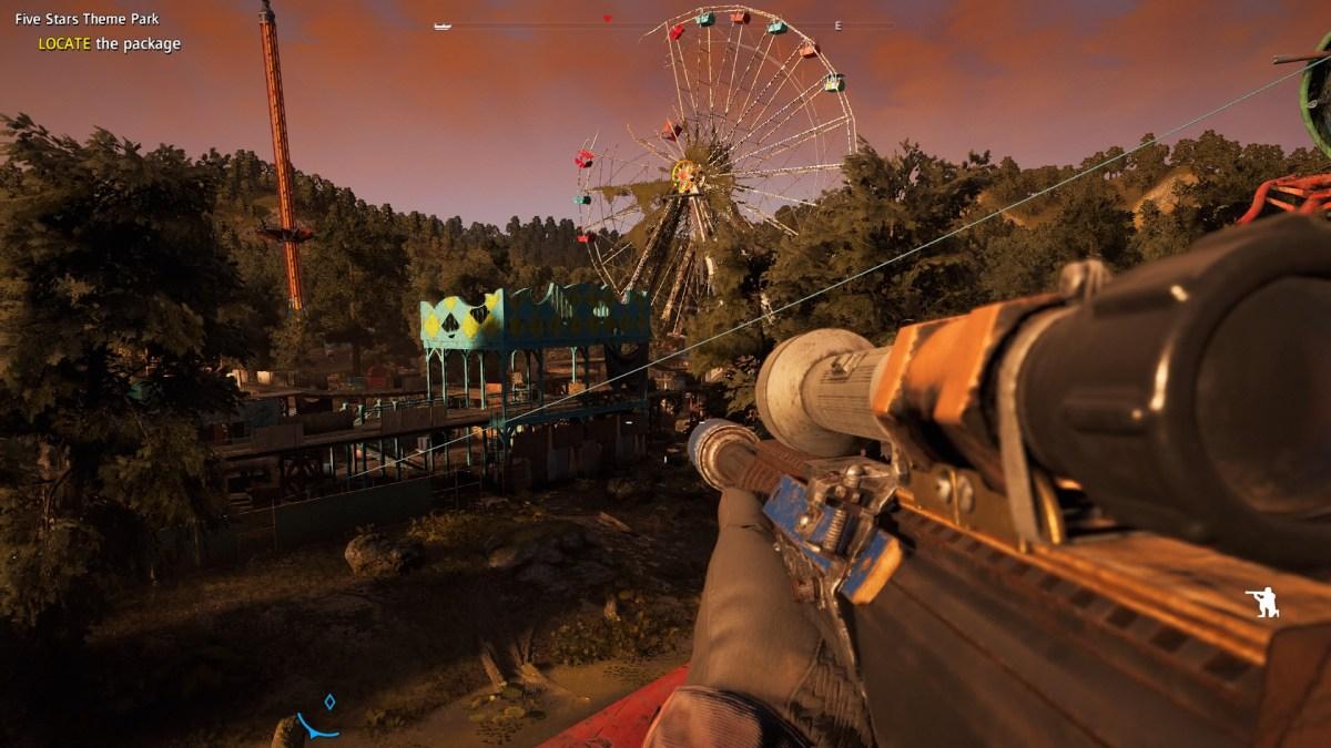 Farcry New Dawn amusement park.