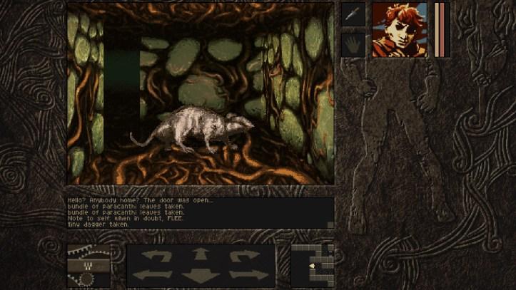 Aeons of sand Dungeon crawling rat
