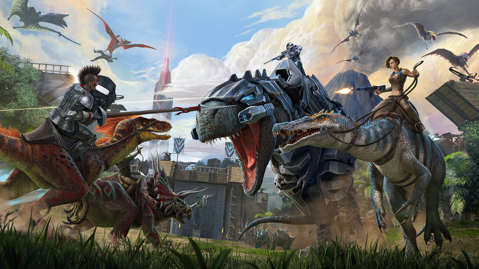 Ark Survival Evolved Review: Dinosaurs and Bugs - Gideon's Gaming