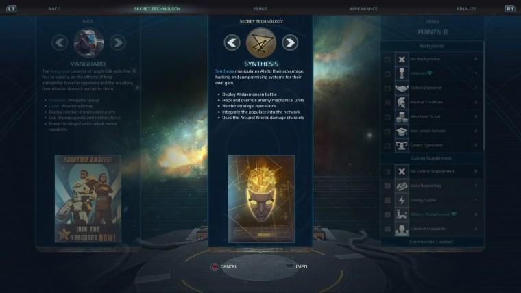 Age of Wonders Planetfall secret tech