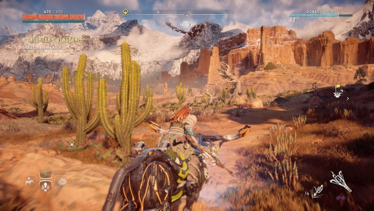 Horizon Zero Dawn mount