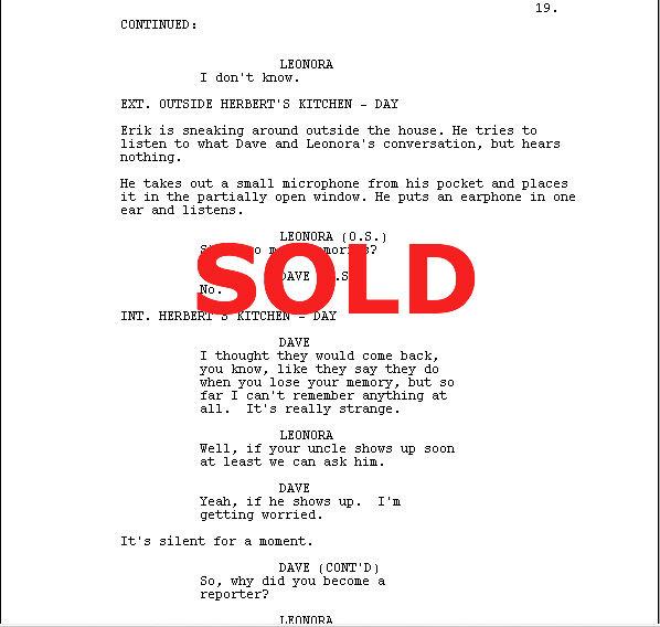 How A Film Script Sale Is Made – Gideon's Screenwriting