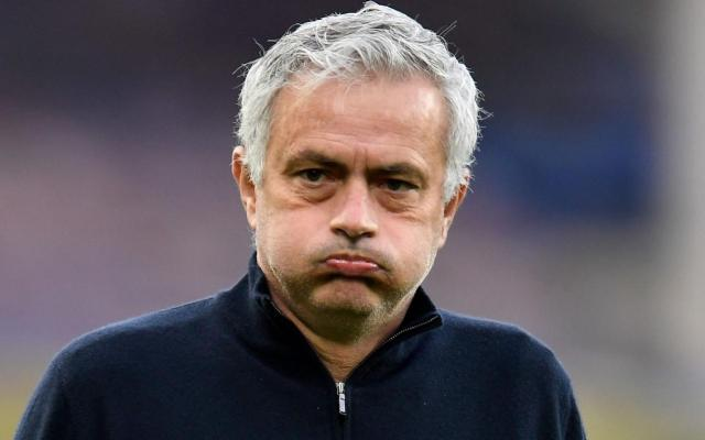 Jose Mourinho's time at Tottenham is over