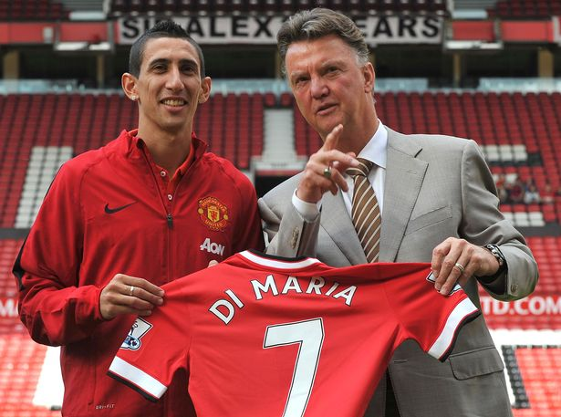 Di Maria: Man United's Iconic No. 7 Shirt Had No Special Meaning To Me