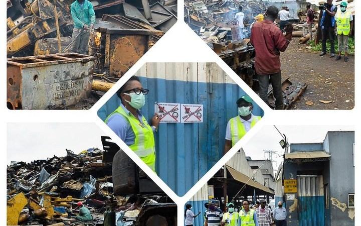 "LASG Issues ""Stop Work"" Order To Iron, Steel Manufacturers In Ikorodu"