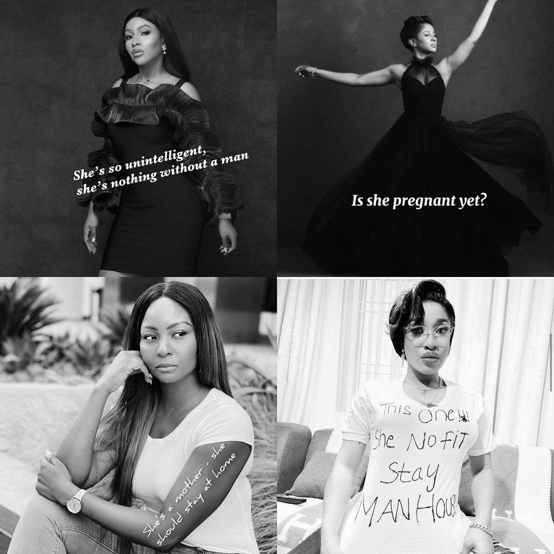 Female Celebrities Join Simi's #NobodyLikeWoman Challenge (Photos)