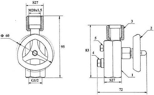 KPM 3 switching instrument module
