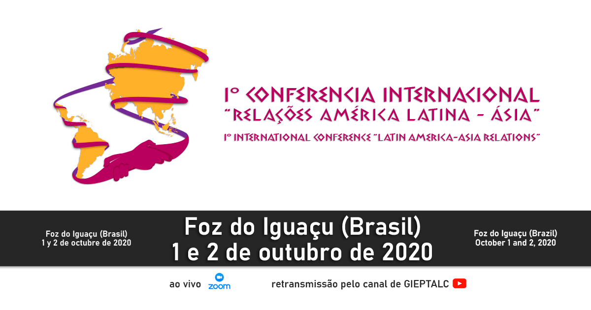 """Watch again the conferences of the First International Congress on """"Latin America – Asia Relations"""""""