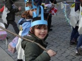 Traditional gift bearer parade