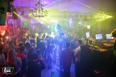 Partyalarm im BSK Saal