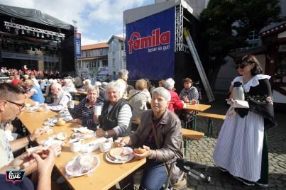 Foto: Cagla Canidar, Altstadtfest 2017, Samstag, Bürgerfrühstück