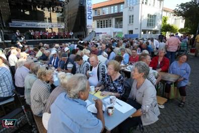 Foto: Sebastian Preuss, Altstadtfest 2018, Gifhorn, Bürgerfrühstück