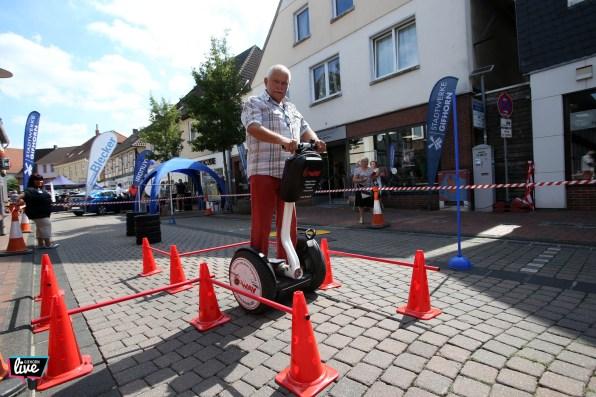 Foto: Sebastian Preuss, Altstadtfest 2018, LSW, Energiemeile, Segway, Becherstand