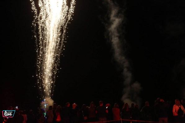 Tankumsee in Flammen, Foto: Cagla Canidar