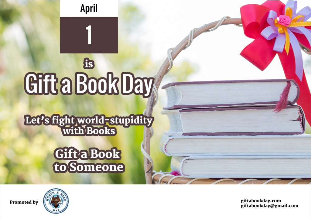 gift a book day