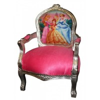Kids French Armchair Princess Chair - Gift and Art Gallery