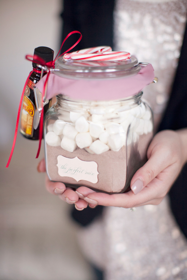 Homemade Christmas Jar Gifts