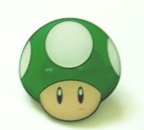 1Up Mushroom Badge Pin + More Mario Stocking Stuffers
