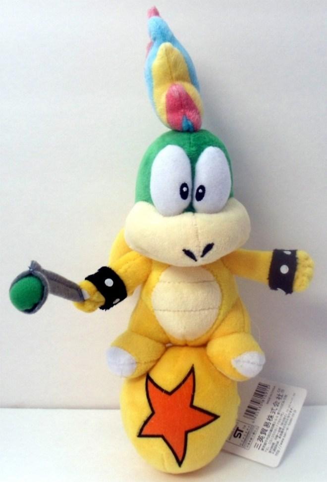 Lemmy Koopa Plush + More Mario Stocking Stuffers