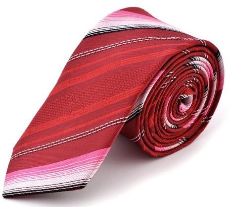Red Satin Necktie
