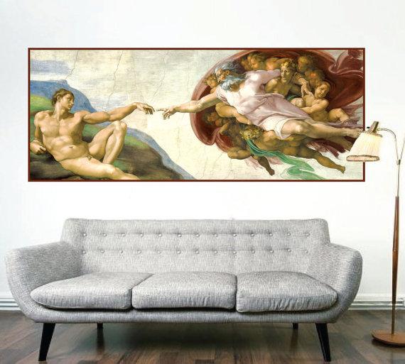Sistine Chapel Wall Mural