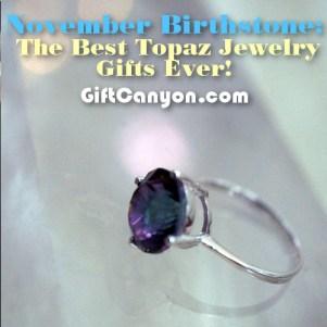 november topaz birthstone jewelry