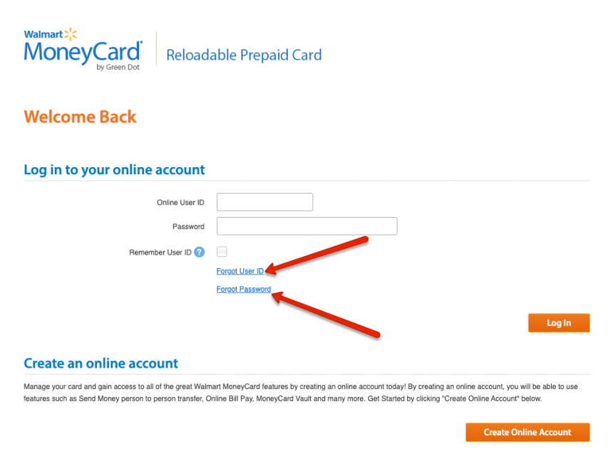 """How to Retrieve MoneyCard Username and Password"""
