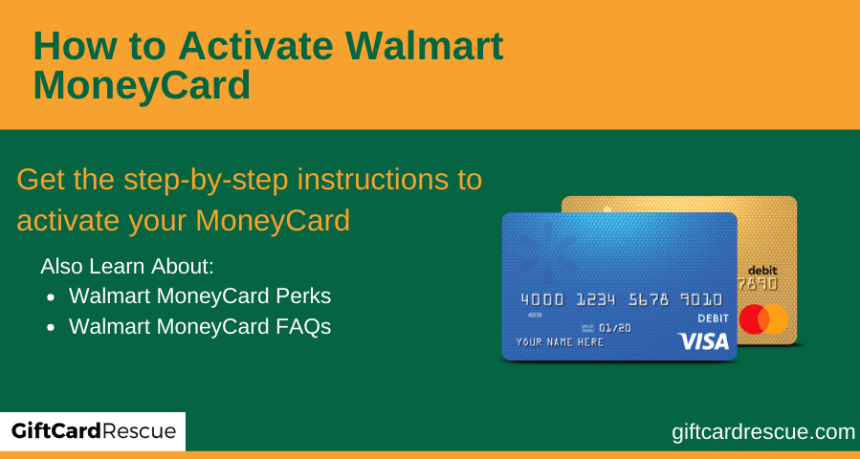 """""""Activate Walmart MoneyCard"""""""