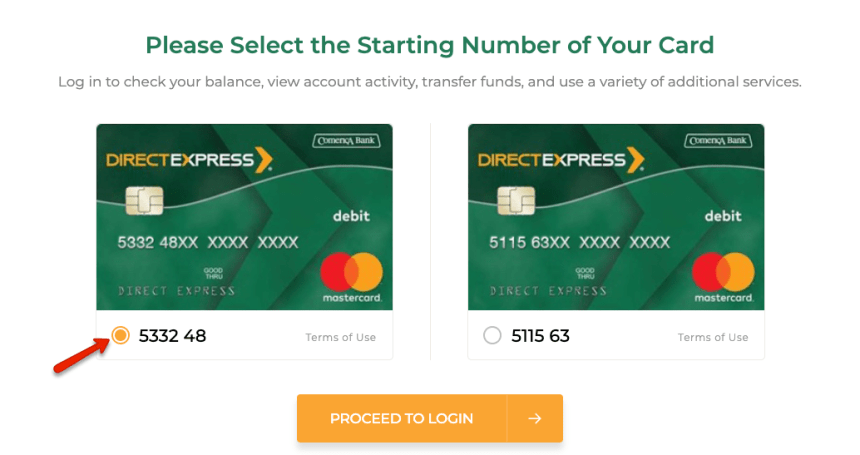 """How to Login to Direct Express Account"""