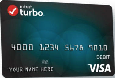 """Turbo Debit Card from TurboTax"""