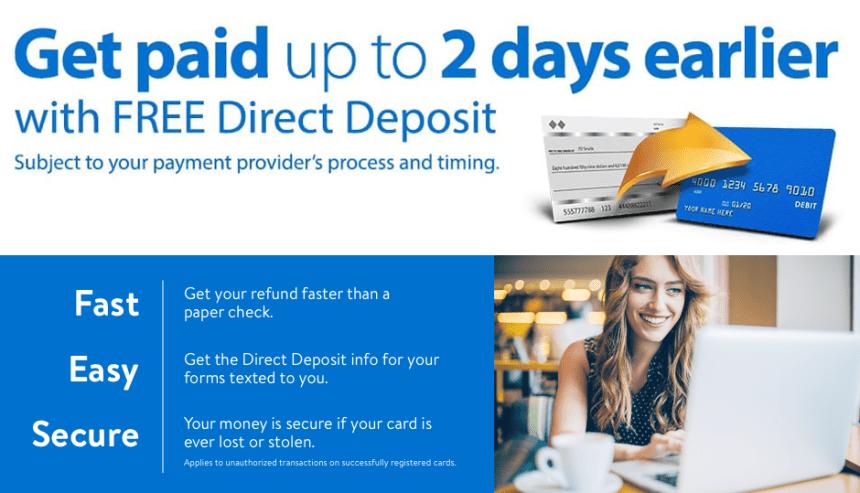 """ASAP Direct Deposit"""