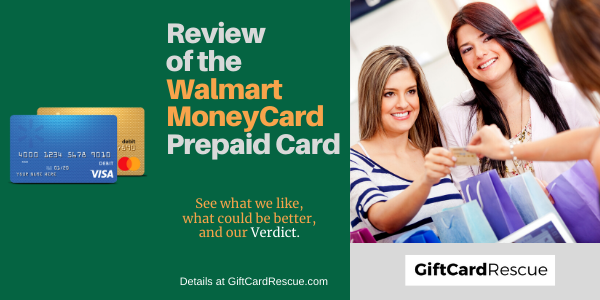 """Walmart MoneyCard Review"""