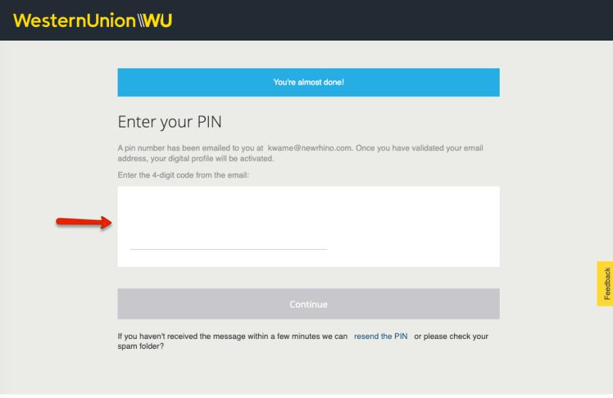 """Create Western Union Account Online - 3"""