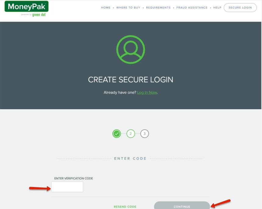 """How to Create Green Dot MoneyPak Account - 2"""