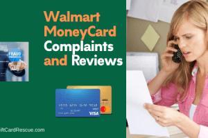 """Walmart money card blocked pending review"""