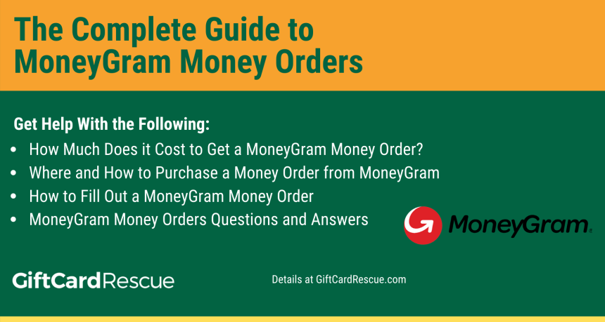 """How to fill out and where to cash MoneyGram Money Order"""