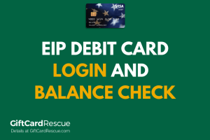 """How to check the balance on your EIP Card"""