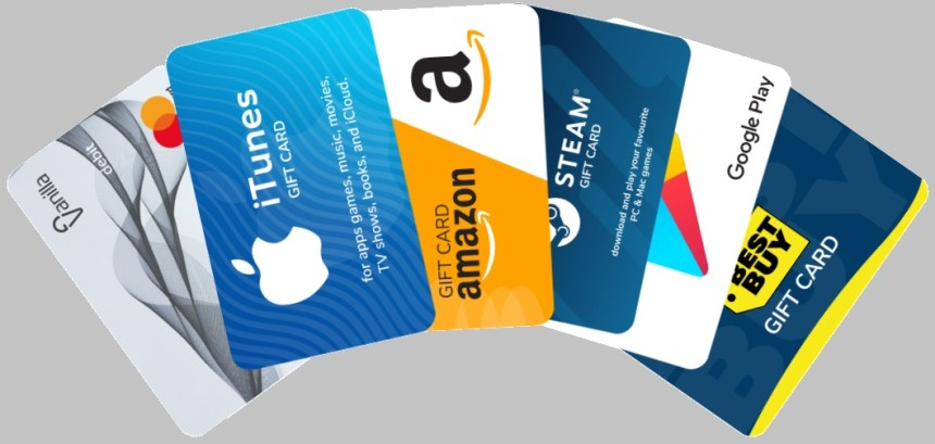 GIFT CARDS, GIFT VOUCHERS AND ECODES - WHAT'S THE DIFFERENCE