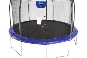 Skywalker Trampolines 15-Foot Jump N' Dunk Trampoline