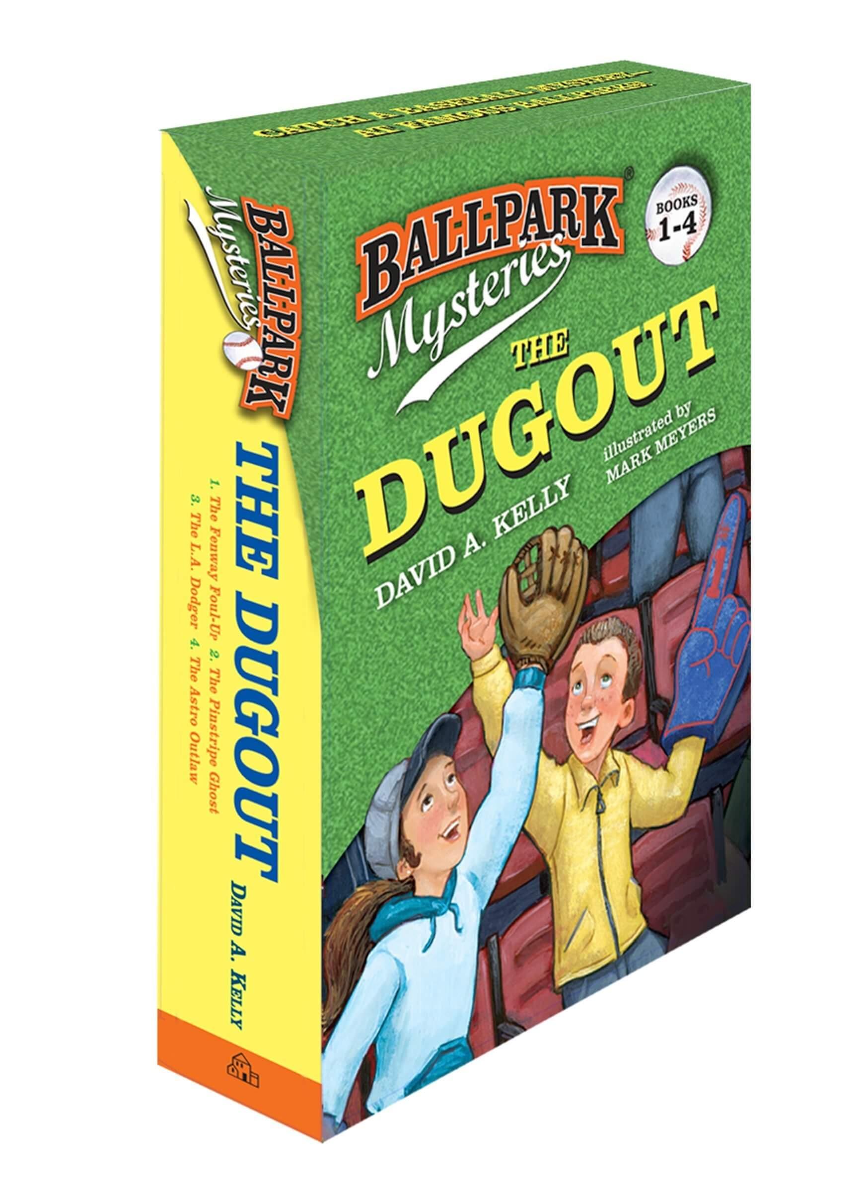 Ballpark Mysteries: The Dugout (books 1-4)