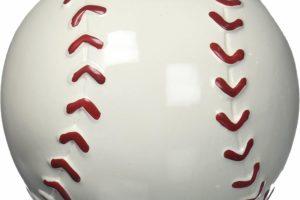 Baseball Shape Piggy Bank