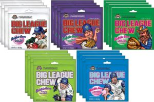 Big League Chew Bubble Gum Variety Pack