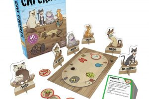 ThinkFun Cat Crimes Logic Game and Brainteaser
