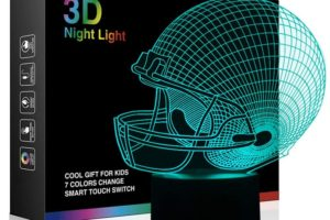 LED Light Up Football Helmet