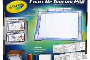 Crayola Light-Up Tracing Pad Blue