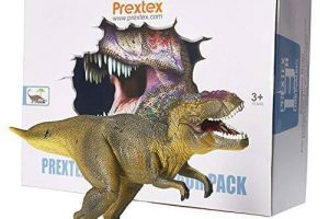 Realistic Looking Dinosaurs Pack of 4 Jumbo Assorted Dinosaurs
