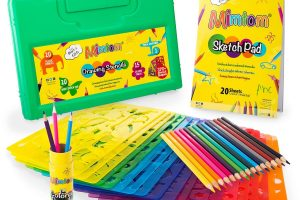 Mimtom Drawing Stencils for Kids
