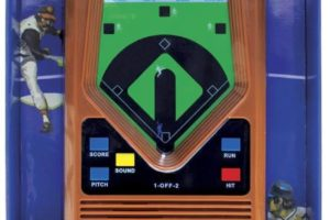 Electronic Retro Baseball Game