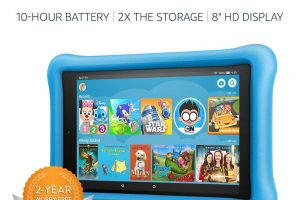 "Fire HD 8 Kids Edition Tablet, 8"" HD, 32 GB, Kid-Proof Case"