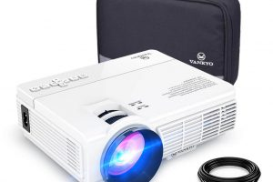 Mini Projector, Full HD 1080P
